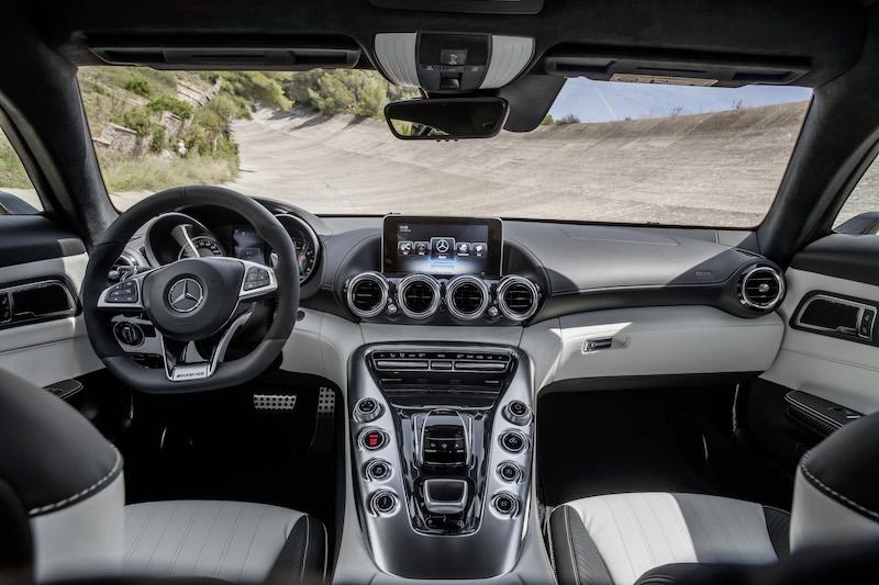 Mercedes-AMG GT (C 190) 2014, exterior: fire opal,