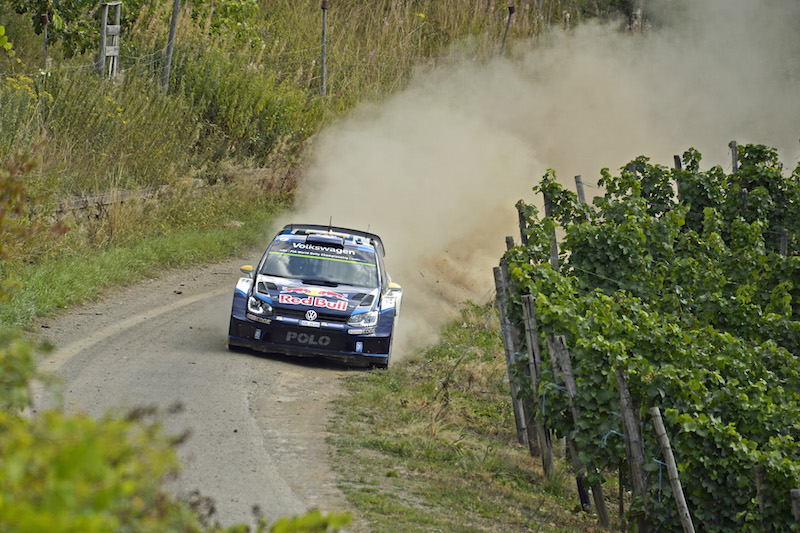 Andreas Mikkelsen (NOR), Ola Fløene (NOR) Volkswagen Polo R WRC (2015) WRC Rally Germany 2015