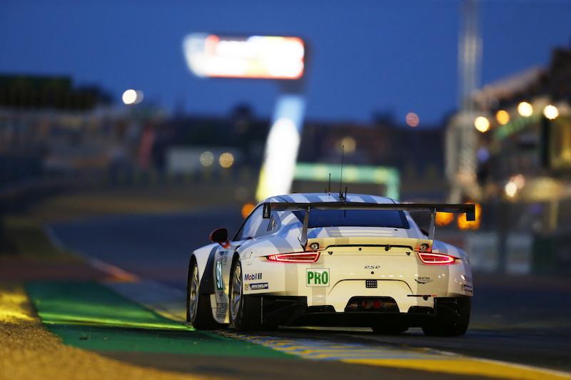 FIA WEC 2015: 24 Heures du Mans Porsche 911 RSR, Porsche Team Manthey: Richard Lietz, Michael Christensen, Jörg Bergmeister