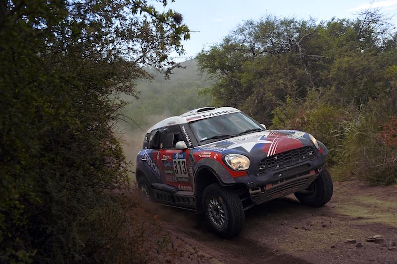 313 GARAFULIC Boris (chl) PALMEIRO FILIPE (prt) MINI action during the Dakar 2016 Argentina,  Bolivia, Etape 12 / Stage 12,  San Juan - Villa Carlos Paz,  from  January 15, 2016 - Photo Eric Vargiolu / DPPI