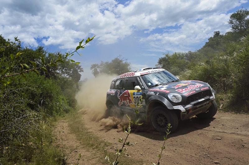 300 AL-ATTIYAH Nasser (qat) BAUMEL Matthieu (fra) MINI action during the Dakar 2016 Argentina,  Bolivia, Etape 12 / Stage 12,  San Juan - Villa Carlos Paz,  from  January 15, 2016 - Photo Eric Vargiolu / DPPI