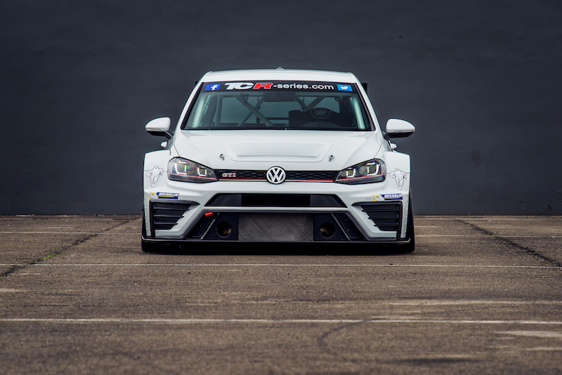 Volkswagen Golf GTI TCR Roll-out Valencia 2016