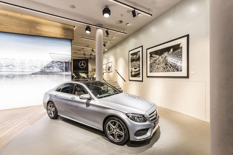 """""""Mercedes me"""" , Store Eröffnung 2014, Hamburg, Pressekonferenz, Ballindamm 17"""